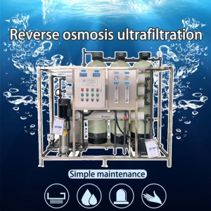 Reverse Osmosis Ultrafiltration Machine/ RO Control Membrane Price System Water Treatment Equipment Ultrafiltration Machine 0.5 Tons-200 Tons