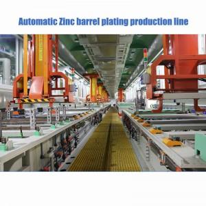 Automatic Gantry Barrel Plating Production Line, Zinc Plating Machine Automatic Barrel Electroplating Production Line