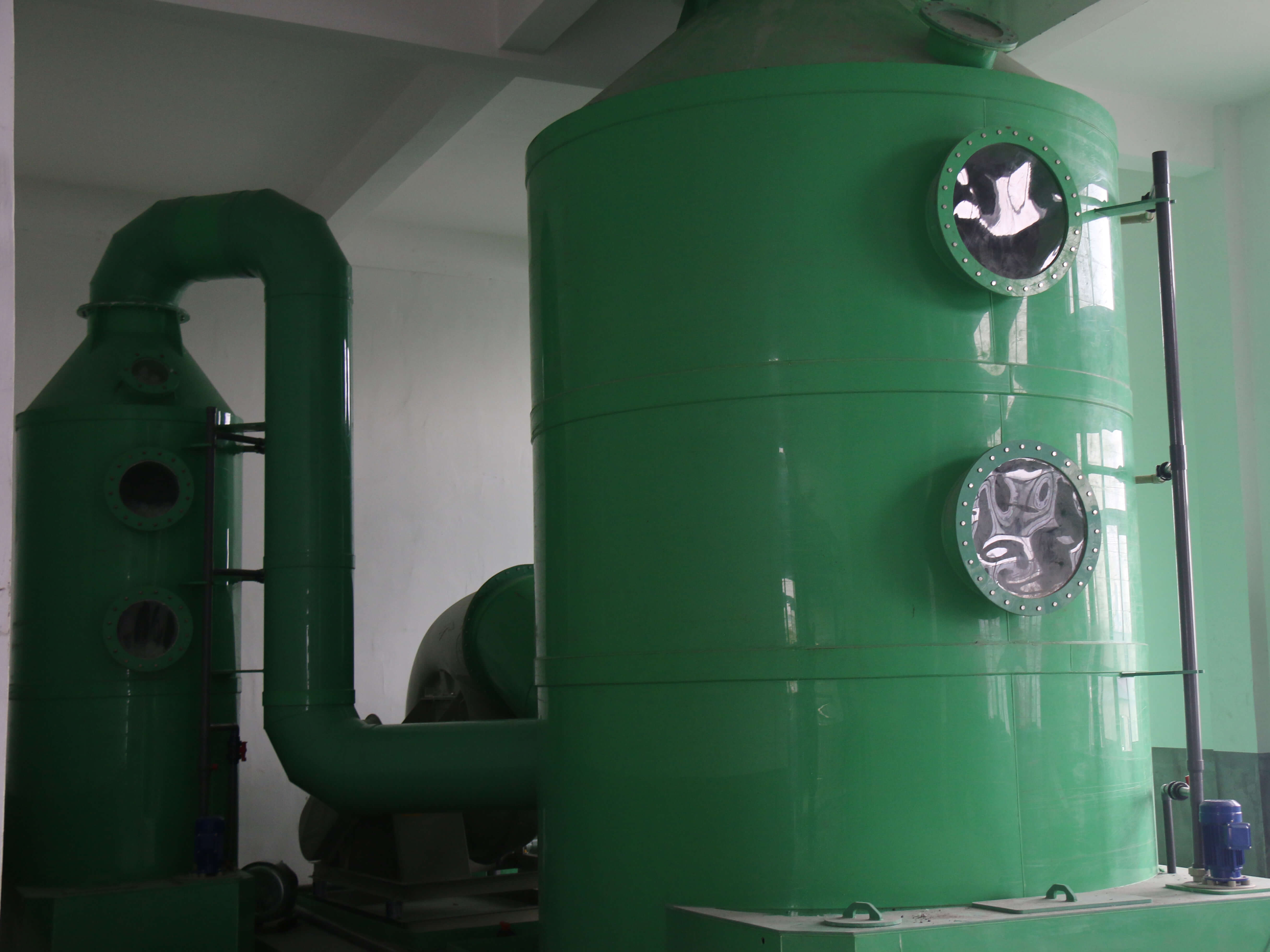 Organic waste gases treatment equipment Featured Image