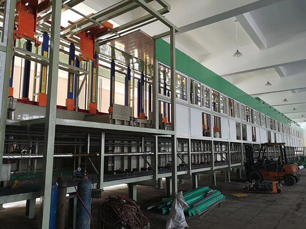 Automatic circular vertical electroplating production line1