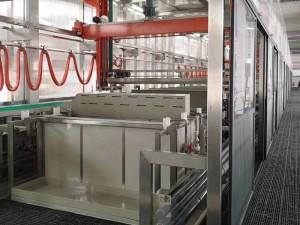 Aluminum oxidation automatic production line