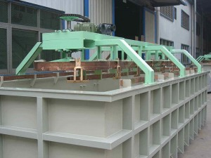 Single part electroplating production line